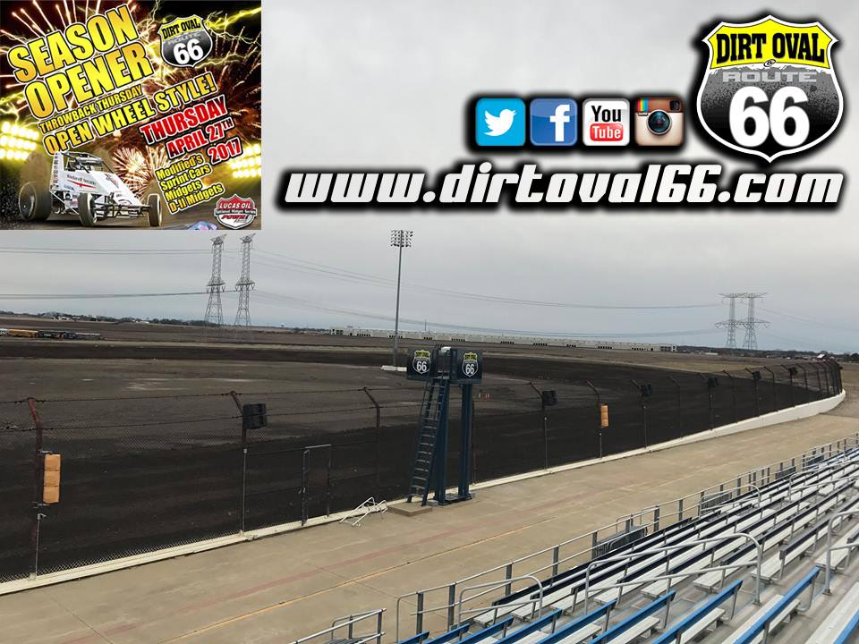 Dirt Oval 66 Newsletter – April 20