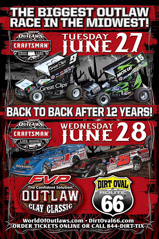 FVP Outlaw Clay Classic at the Dirt Oval