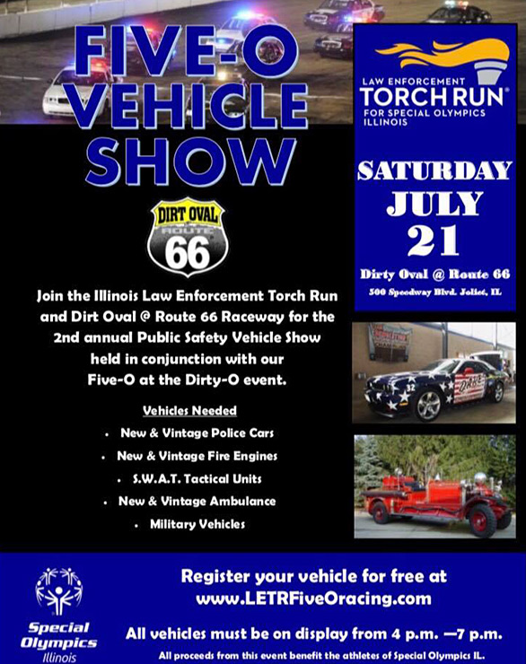 Five O vehicle show