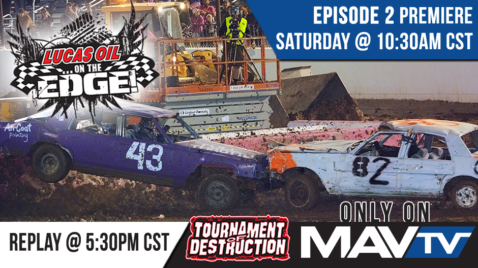 "Team Demolition Derby Returns to ""Lucas Oil…On The Edge!"""