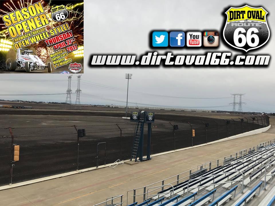 Dirt Oval 66 Newsletter – April 20