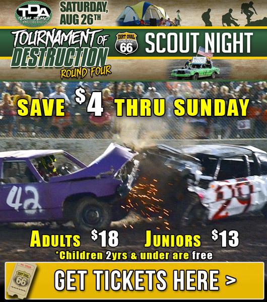 Tournament of Destruction Round 4: Next Saturday, August 26th