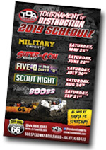 Route 66 Demolition Derby | Tickets 2019 | Dirt Oval Joliet Saturday