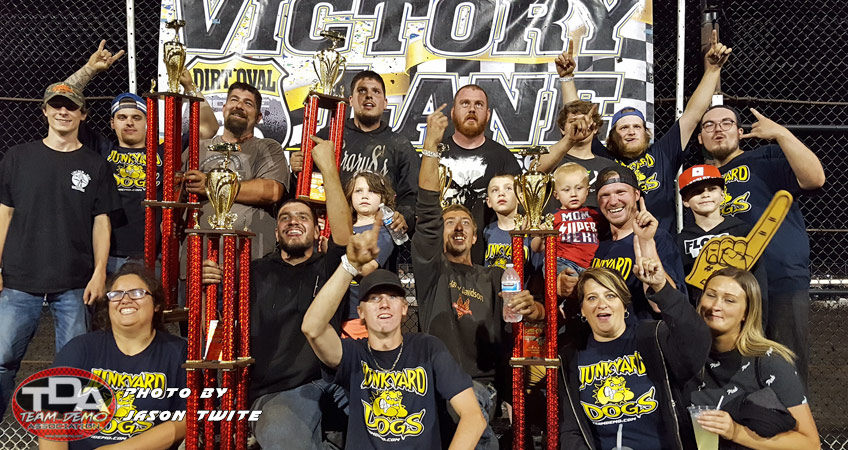 Junkyard Dogs Win Back-to-Back Events