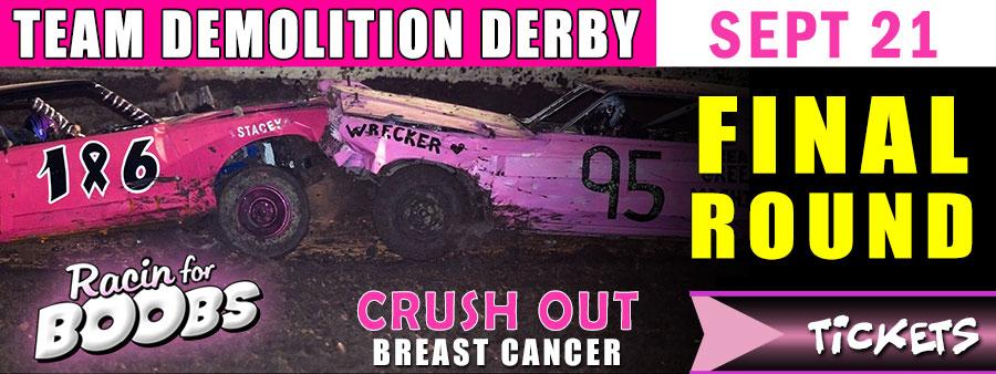 Team Demolition Derby | Official Tickets | Tournament of