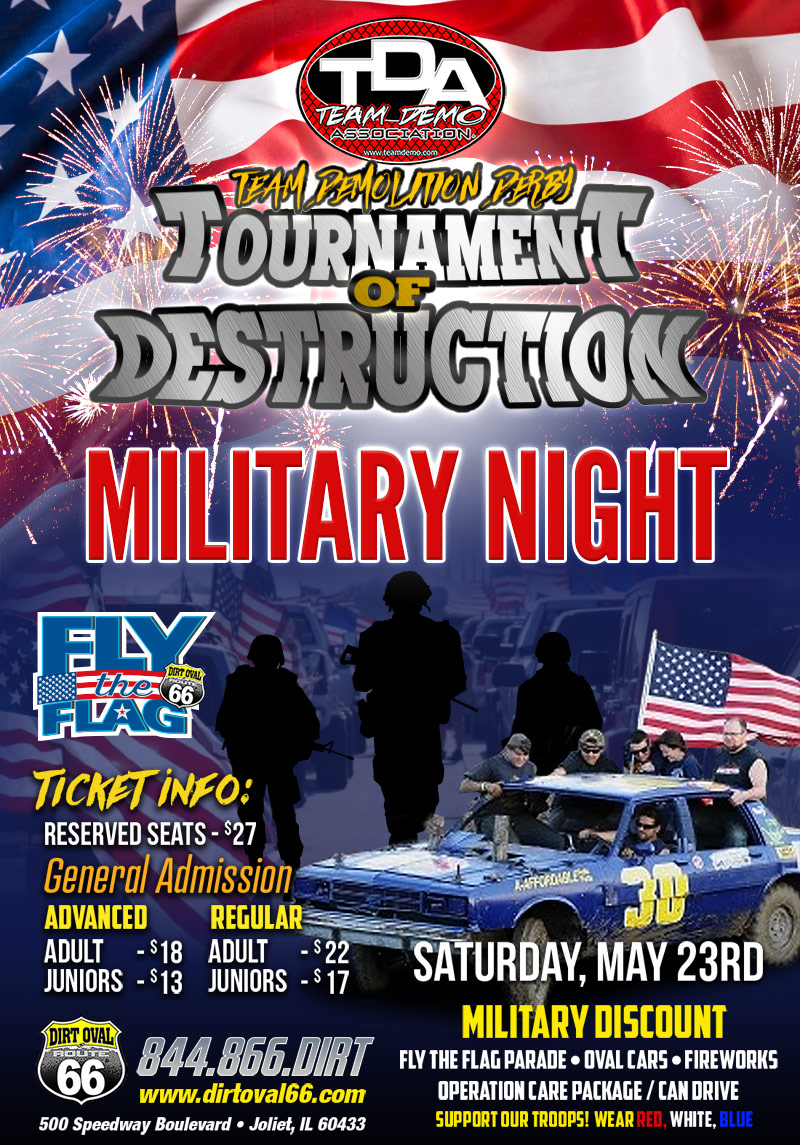 may 23 demo derby
